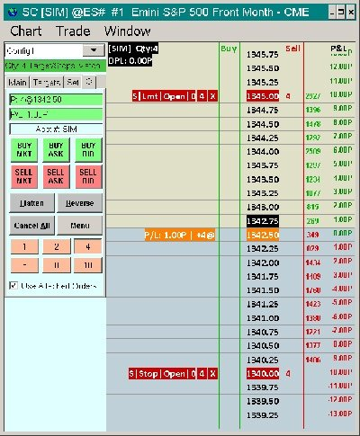 Futures Order Entry