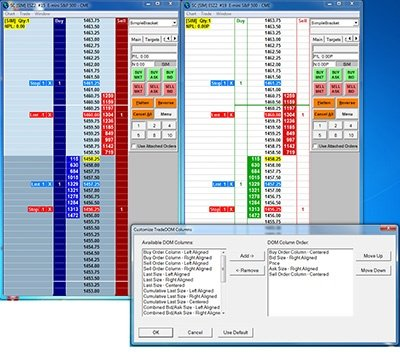 DOM Futures Trading